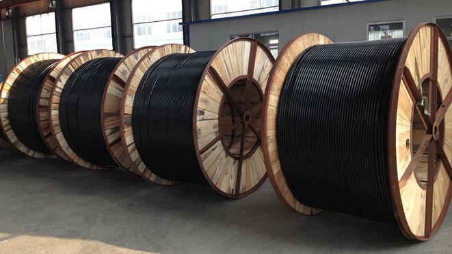 Dauerhafte Antenne zusammengerollte Kabel-Quadruplex Kabel ...