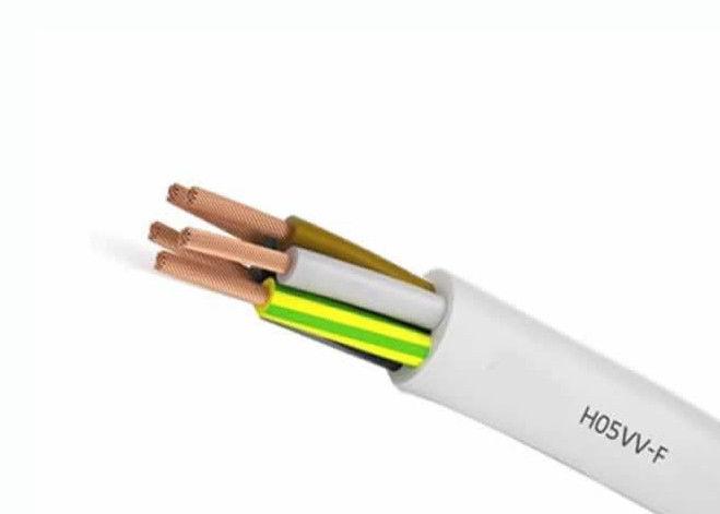 Hausgebrauch-flexibler elektrischer Draht 318-Y/Kabel 5×0.75 H05VV F ...